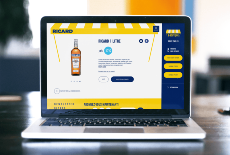 site e-commerce ricard